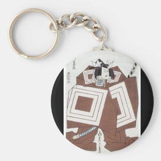 Ancient Japanese Art Keychain
