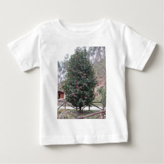 Ancient japanese cultivar of Camellia japonica Baby T-Shirt