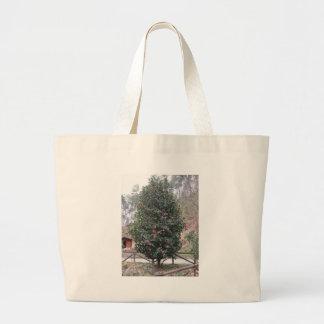 Ancient japanese cultivar of Camellia japonica Large Tote Bag