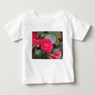 Ancient japanese cultivar of red Camellia japonica Baby T-Shirt
