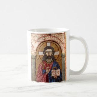 Ancient Jesus Mosaic Coffee Mug