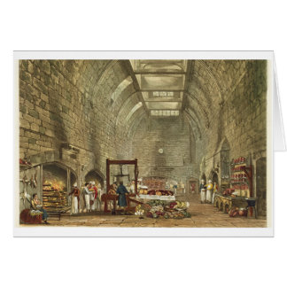 Ancient Kitchen, Windsor Castle, engraved by Willi Card