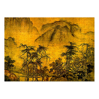 Ancient Landscape ATC Pack Of Chubby Business Cards