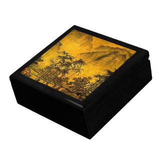 Ancient Landscape Large Square Gift Box