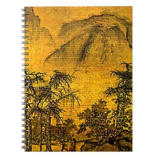 Ancient Landscape Notebook