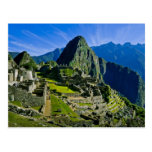 Ancient Machu Picchu, last refuge of the 2 Post Cards