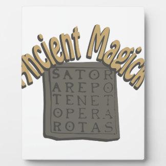 Ancient Magick Photo Plaque