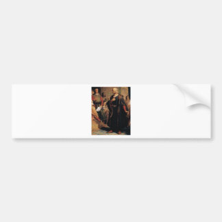 ancient man in black robe bumper sticker