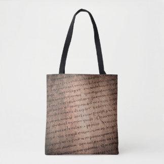 Ancient Manuscript 2 Tote Bag