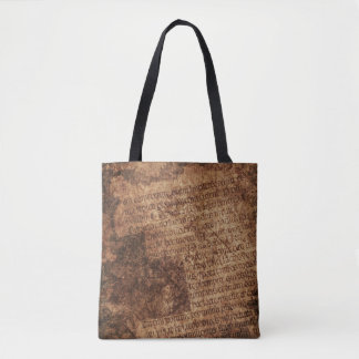 Ancient Manuscript 3 Tote Bag