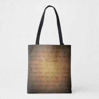 Ancient Manuscript Tote Bag
