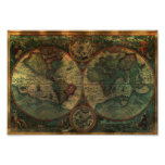 Ancient Map Poster