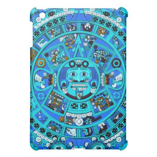 Ancient Mayan Calendar Symbol Cover For The iPad Mini