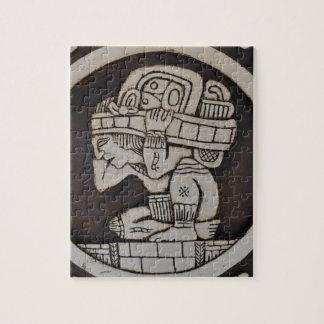 Ancient Mayan Warrior Jigsaw Puzzle