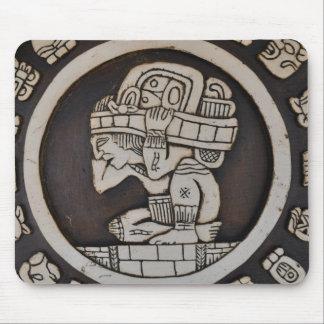 Ancient Mayan Warrior Mouse Pad