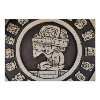 Ancient Mayan Warrior Photo Print
