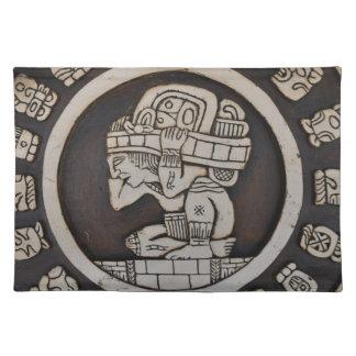 Ancient Mayan Warrior Placemat