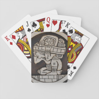 Ancient Mayan Warrior Playing Cards