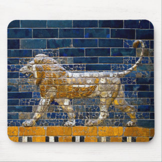 Ancient Mesopotamia: Babylonian Lion mouse pad