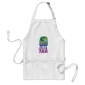 Ancient Mexican Bird Standard Apron