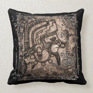 "Ancient Mexico Polyester Throw Pillow 20"" x 20"""