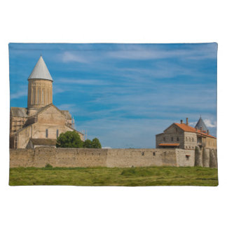 Ancient Monastery Exterior Placemat