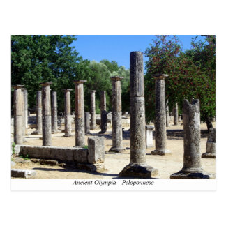 Ancient Olympia Postcard