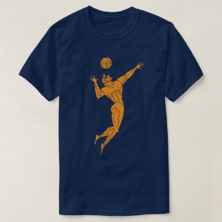 Ancient Olympian Volleyball Funny Pun Dark T-Shirt