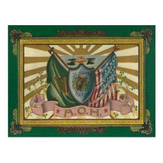 Ancient Order of Hibernians Postcard