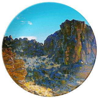 Ancient Oregon Landscapes Plate