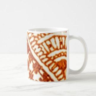 ancient ornament basic white mug