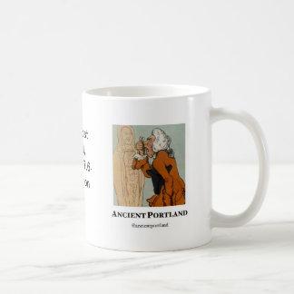 Ancient Portland Coffee Mug: Virtue is like coffee Coffee Mug