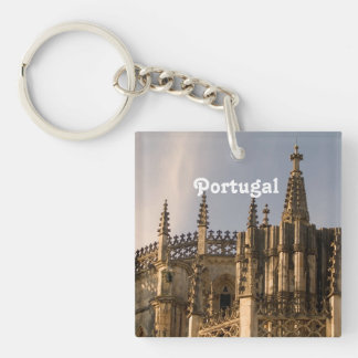 Ancient Portugal Single-Sided Square Acrylic Key Ring