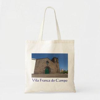 Ancient portuguese catholic church budget tote bag