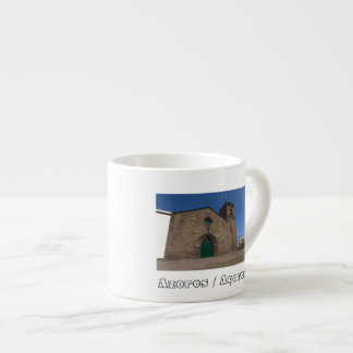 Ancient portuguese catholic church espresso mug