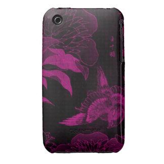Ancient Purple Bird iPhone 3 Case