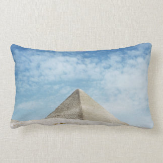 Ancient Pyramid Egypt, Giza Magnificent Ruin Lumbar Cushion