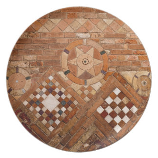 Ancient Roman Brick Work Plate