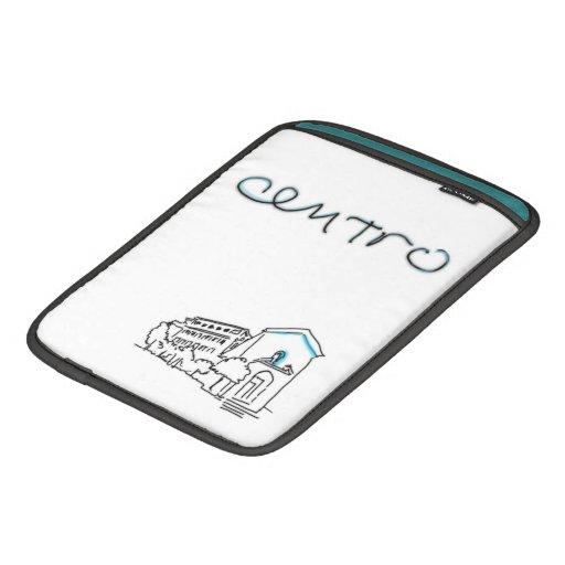 Ancient Roman CENTRO logo iPad padded sleeve case, iPad Sleeves