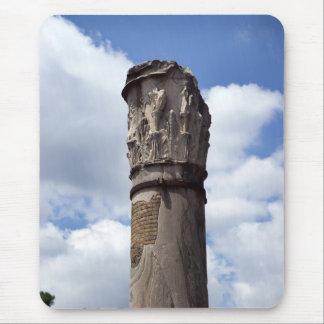 Ancient Roman Column Mouse Pad