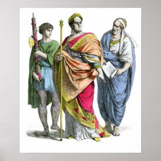 Ancient Roman Emperor Poster