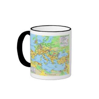 Ancient Roman Empire Map Coffee Mug