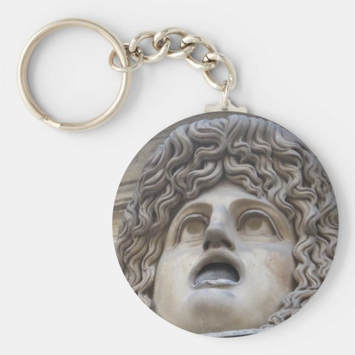 Ancient Roman Gorgon - mythology Keychains