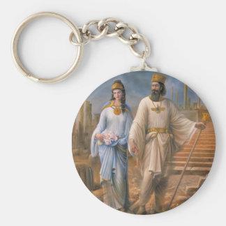 Ancient Royalty Key Ring