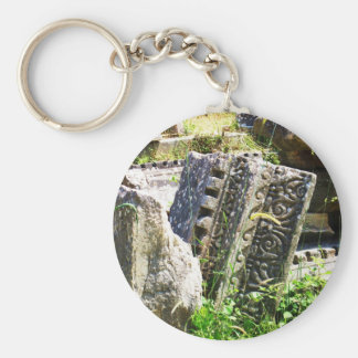 Ancient ruins in Ephesus Key Chains