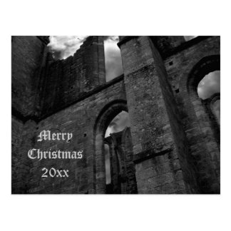 Ancient ruins Merry Christmas Postcards