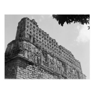 Ancient Ruins: Temple 33 of Yaxchilan Postcard