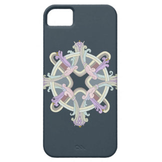 Ancient Russian Style design.Flower of Love. iPhone 5 Cover