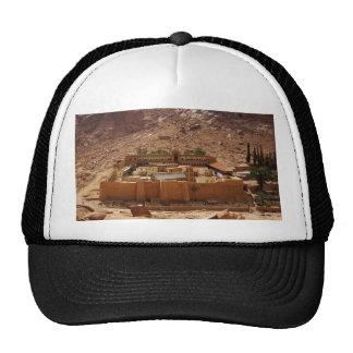 Ancient Saint Catherine's Monastery Sinai Egypt Mesh Hats