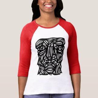 """""""Ancient Sculpture"""" Women's 3/4 Sleeve Raglan T-Shirt"""